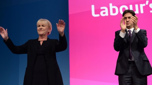 BROKEN: Lamont waves goodbye as Miliband faces leadership questions.