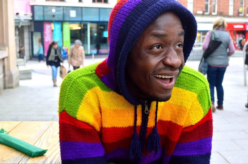 Chido: Image courtesy of Humans of Stirling