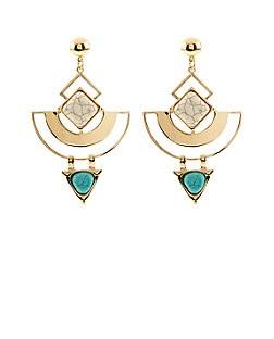 blue earrnigs