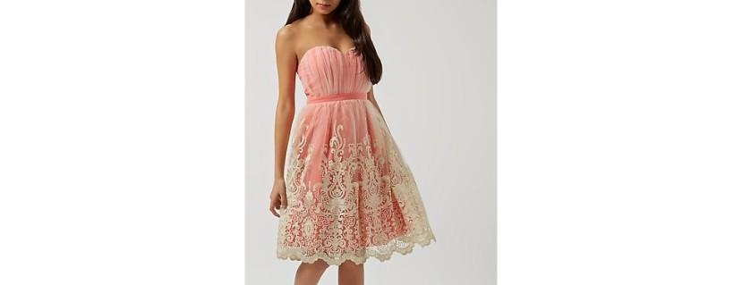 pink petal dress