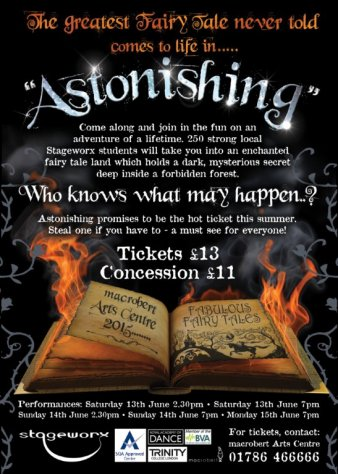 Stageworks presents- Astonishing