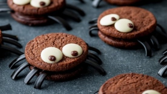 scary-spider-cookies