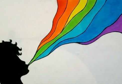 rainbow-vom