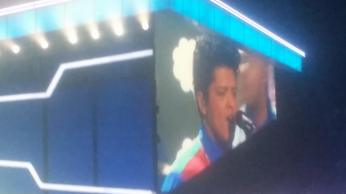 Bruno Mars performing That's What I like. Credit: Brig.