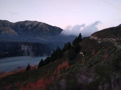 Gorgeous Gorges Trans Alpine at Dusk: Photo Credit Hayley Burrell