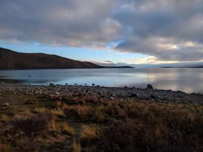 Dusk over Lake Tekapo: Photo Credit: Hayley Burrell