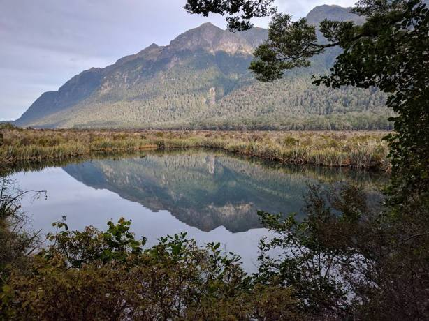 A coach tour will take you to the Mirror Lakes:Photo Credit:Hayley Burrell