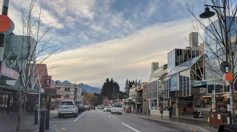 Queenstown centre: Phot Credit: Hayley Burrell