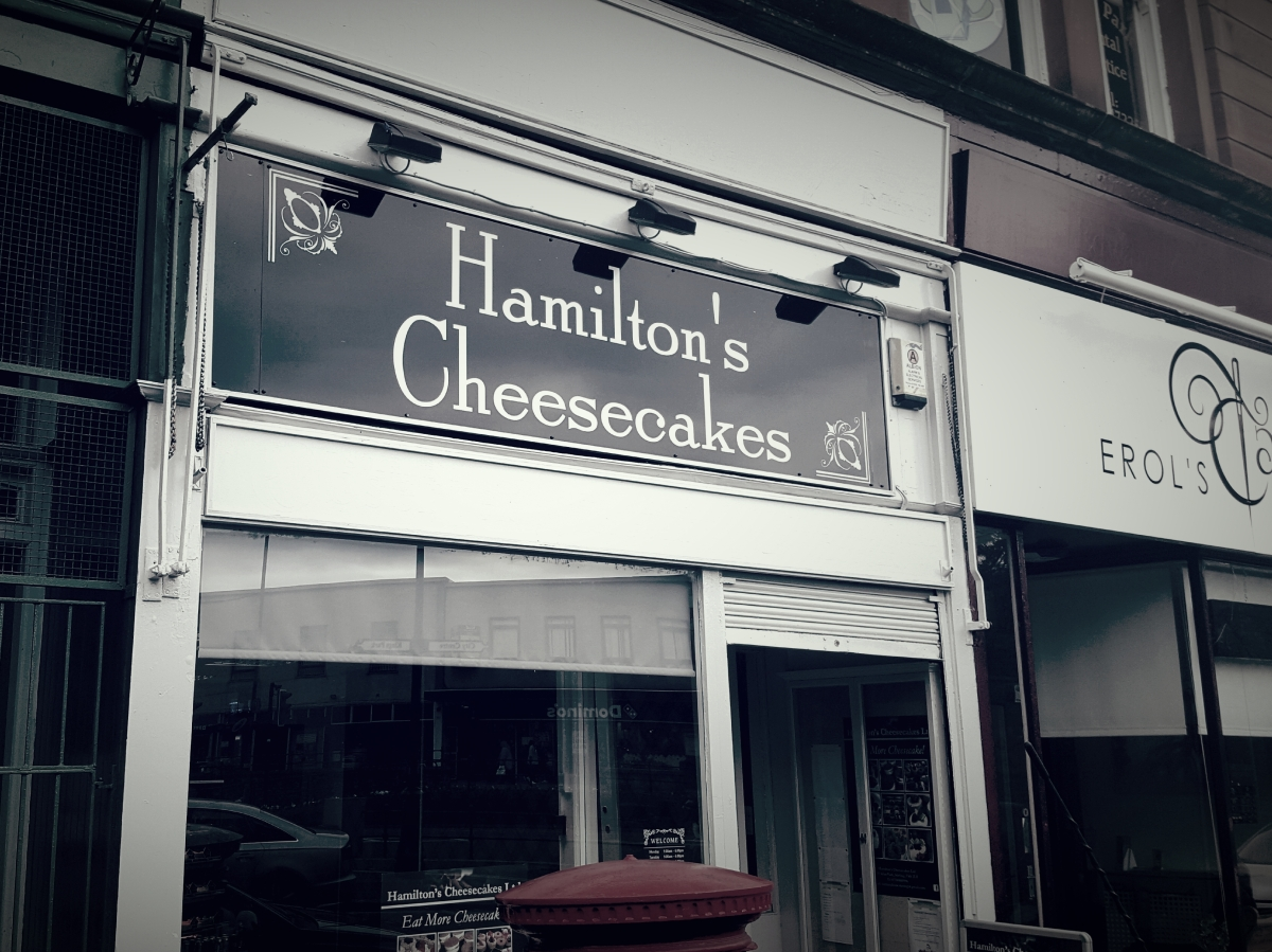 Hamilton's Cheesecakes: Stirling's new dessert specialists