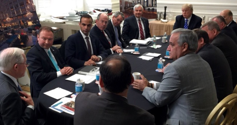 Papadopoulos meeting