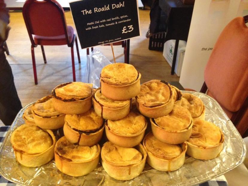 Roald Dahl pies