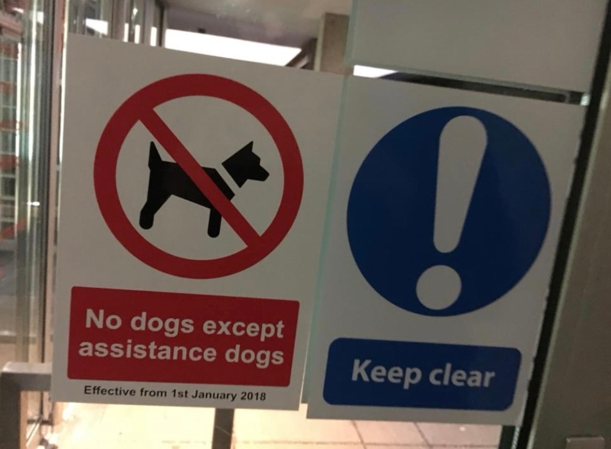 Dog ban introduced by university