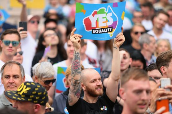 Australian Marriage Equality Hold Post Your Yes Party