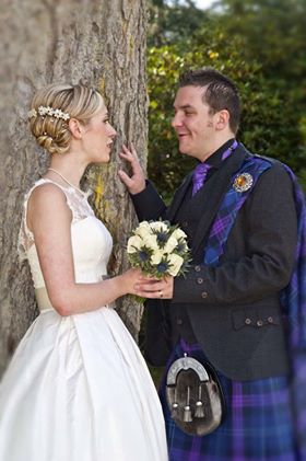 Helen Walker wedding