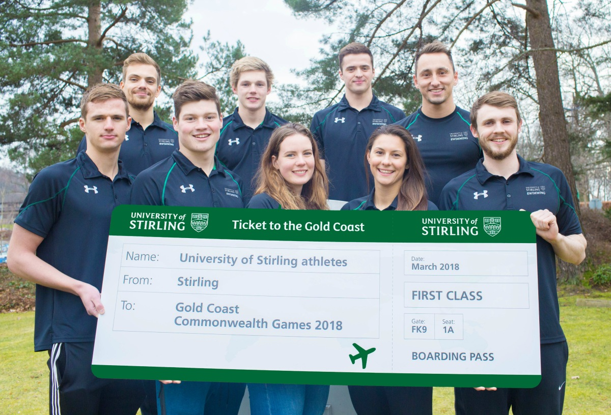 Stirling swimmers set for Commonwealth Games