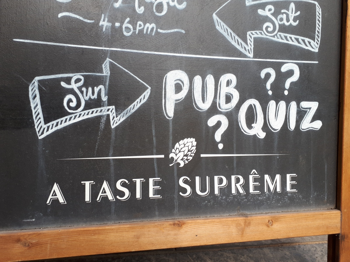A practical guide to the pub quizzes of Stirling