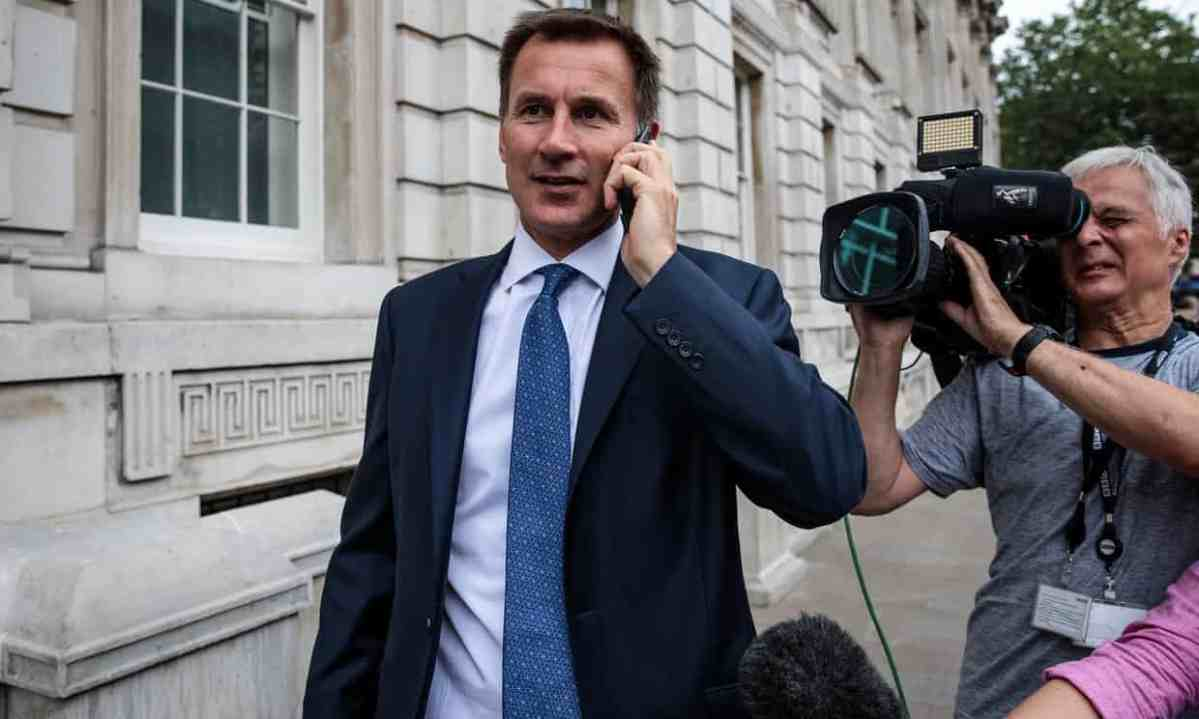 Jeremy Hunt appointed Foreign Secretary after Boris ...