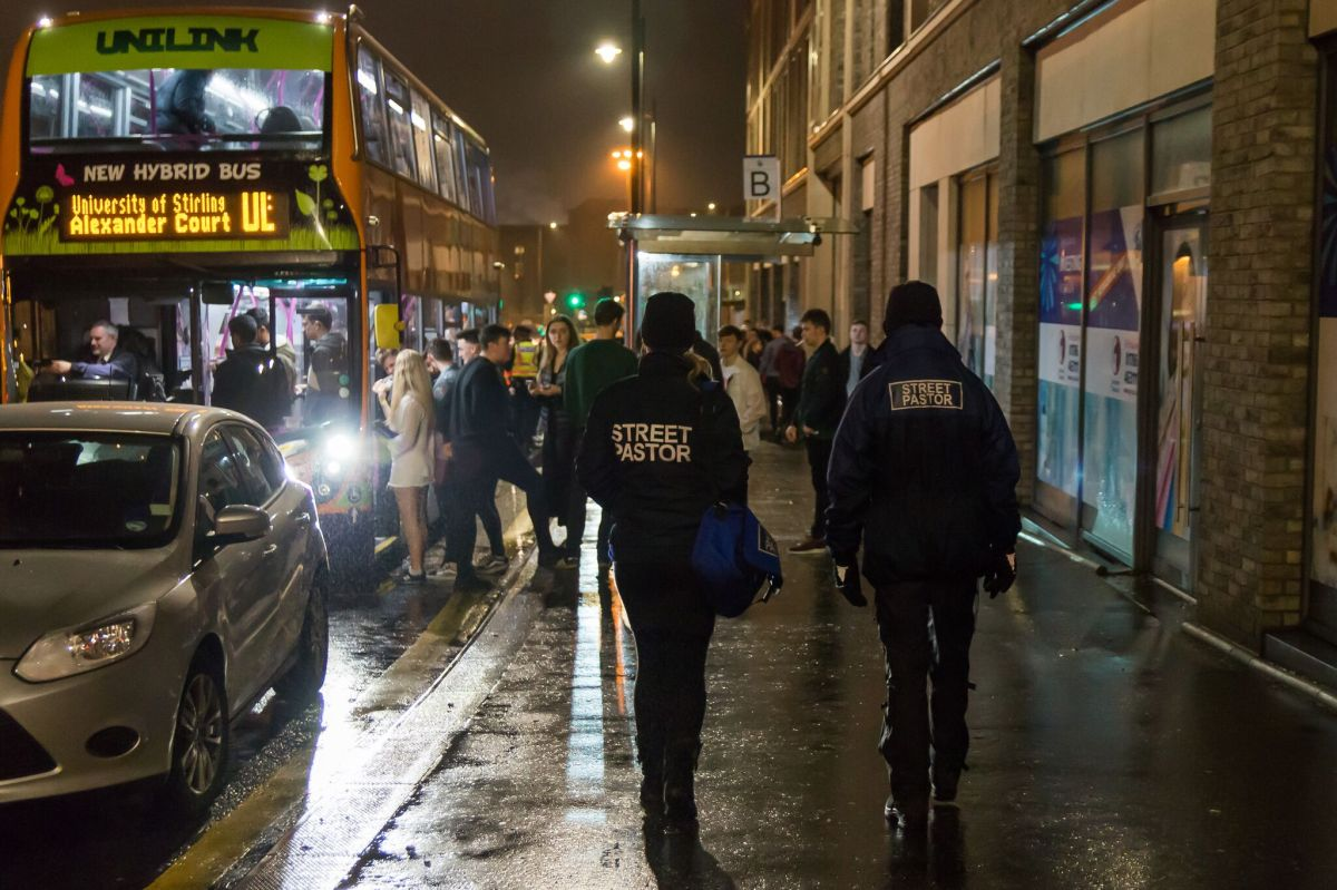 """You see another side to the night."" Brig joins the Stirling Street Pastors"