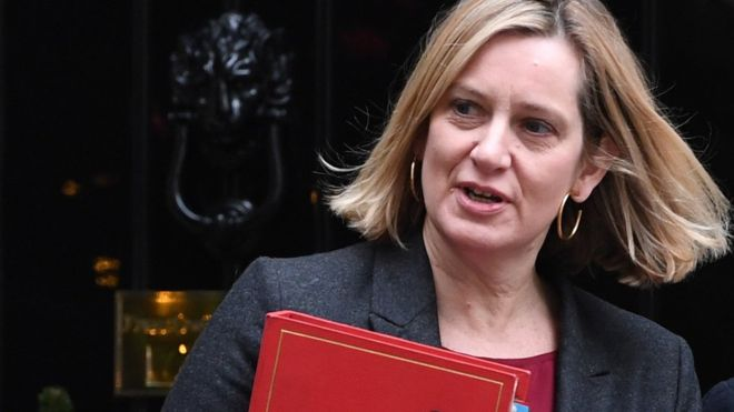 bbc amber rudd work and pensions sec