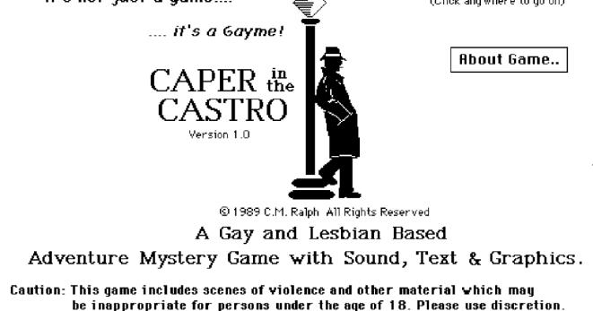 caper (retro-rama)