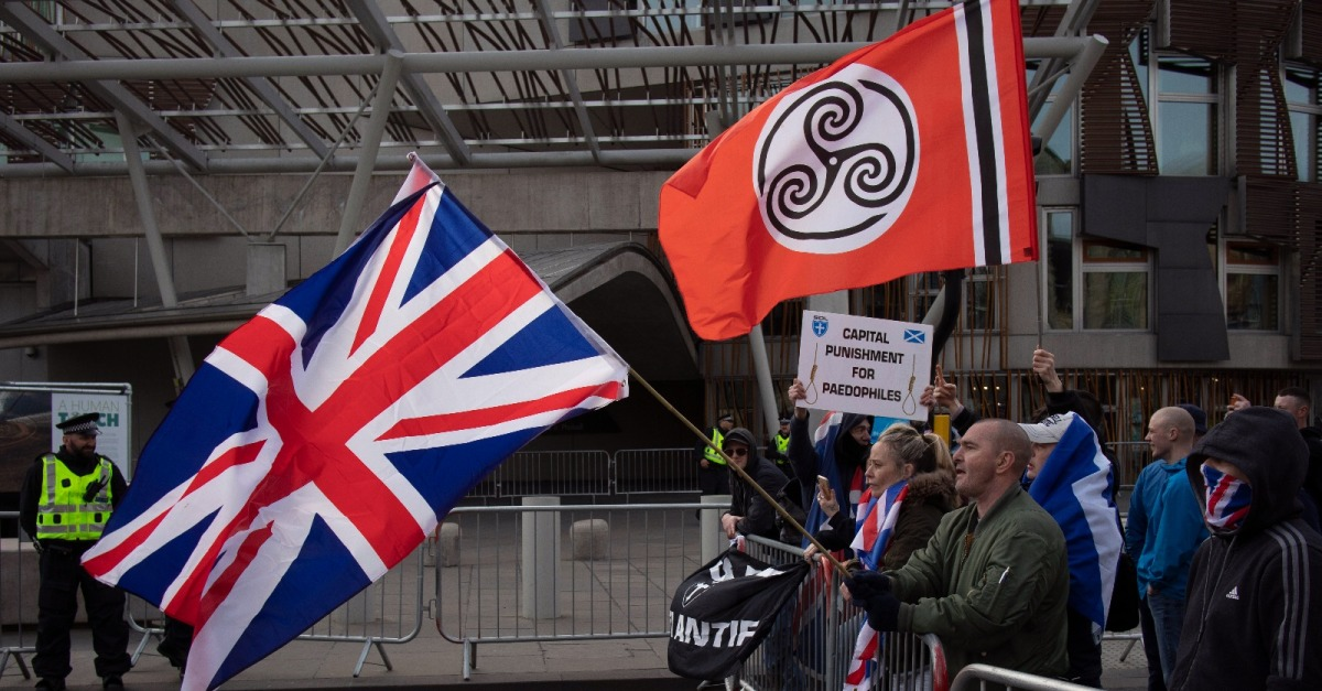 Inside the Fascist March on Holyrood
