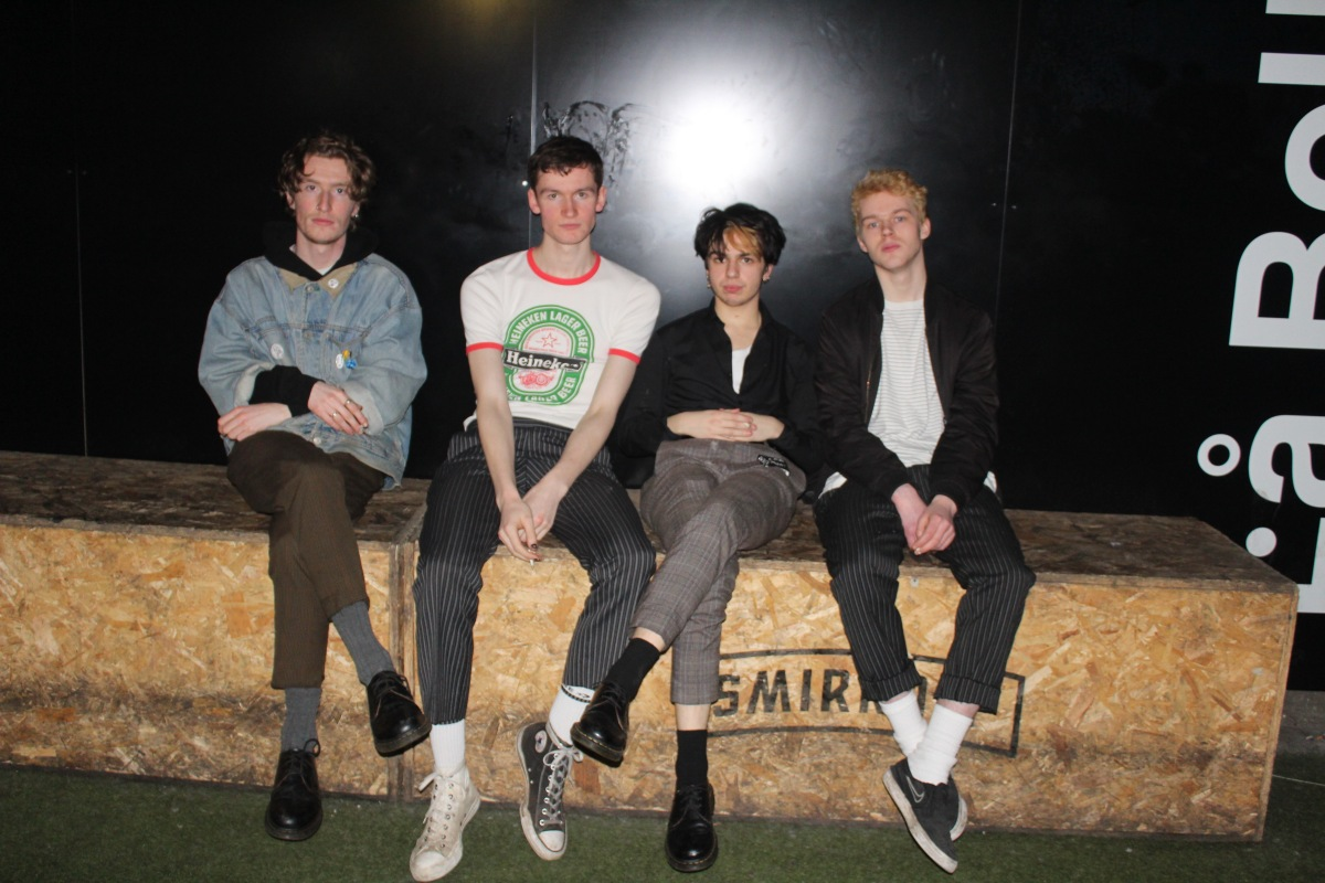 Nasari: The punk rock band rising from Edinburgh's dying music scene.
